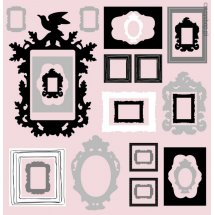 Sticker perete Photo Frames
