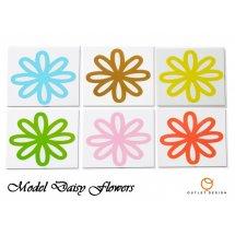Set stickere faianta Flowers