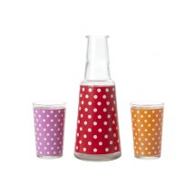 Set carafa si pahare Mini Dots